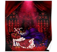 Queen of the Blood Covered Roses Poster