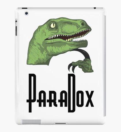 Paradoxical Philosoraptor  iPad Case/Skin