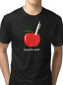 Apple Pen Tri-blend T-Shirt