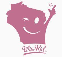 Wis-Kid Pink Kids Tee