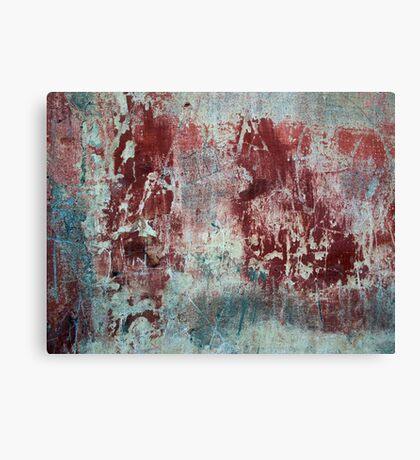 Texture of Grainy plaster Canvas Print