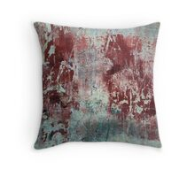 Texture of Grainy plaster Throw Pillow