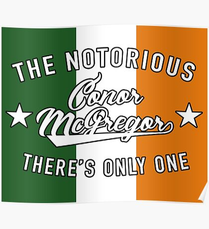There's Only One Conor McGregor Poster