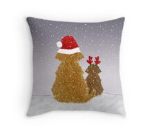 He-is Coming at Midnight Throw Pillow