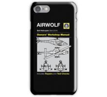 Owners' Manual - Airwolf - T-shirt  iPhone Case/Skin