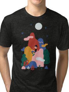 Pleine lune Tri-blend T-Shirt