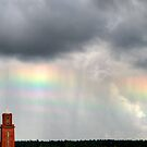 26.8.2014: Old Tower and Rainbow Colours by Petri Volanen