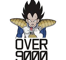 Vegeta - Its over 9000!  by Nomad56641