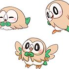 Rowlet by MeloDenesa