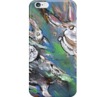 White Rabbits On The Run iPhone Case/Skin