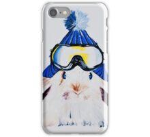 Anitas Schneehase blau iPhone Case/Skin
