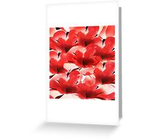Red Poppies - Painterly Greeting Card