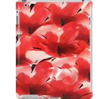 Red Poppies - Painterly iPad Case/Skin