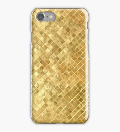 Gold leaf mosaic | texture iPhone Case/Skin