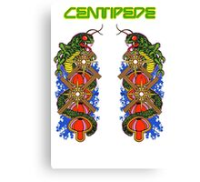 Centipede Game Atari Canvas Print