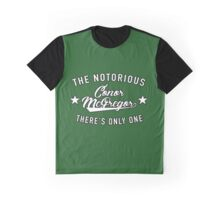 There's Only One Conor McGregor - Green Graphic T-Shirt