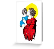 Blood Of My Blood Greeting Card