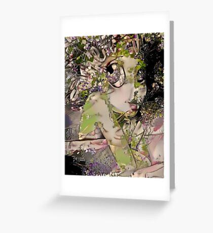Vinie Filtered 11 Greeting Card