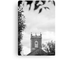 Clock Tower—St Johns Church, Newtown Tasmania Canvas Print
