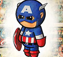"""Comic Cap"" POOTERBELLY by Pat McNeely"