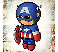"""Comic Cap"" POOTERBELLY Photographic Print"