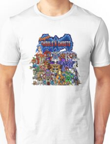 Super Ghost N Ghouls Retro Life Unisex T-Shirt