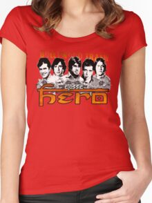 Bollywood Trash- Classic Hero Women's Fitted Scoop T-Shirt