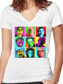 Hammer Warhol Women's Fitted V-Neck T-Shirt