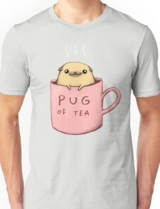Pug of Tea Unisex T-Shirt