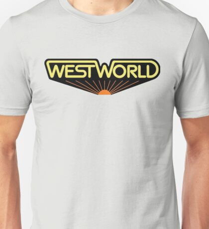 sticker westworld Unisex T-Shirt