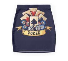 World of Poker Mini Skirt