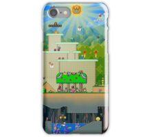 Super Mario World Background iPhone Case/Skin