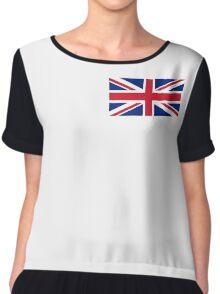 Great Britain Chiffon Top