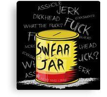 Luke Cage - Swear Jar  Canvas Print