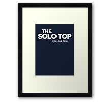 The Solo Top Framed Print