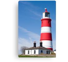 Happisburgh lighthouse,Norfolk,UK Canvas Print