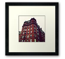 Building In Boston Framed Print