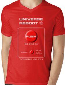 Universe Reboot Mens V-Neck T-Shirt