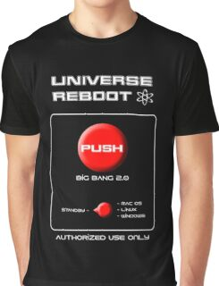 Universe Reboot Graphic T-Shirt