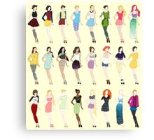 Disney Fashion Canvas Print