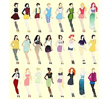 Disney Fashion Photographic Print