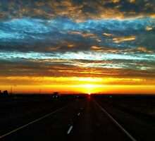 The Road to Sunset by Lisa Taylor