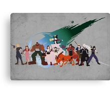 Final Fantasy VII Characters Canvas Print