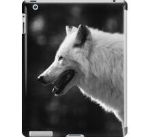 Wolf, White Wolf iPad Case/Skin