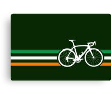 Bike Stripes Irish National Road Race v2 Canvas Print