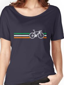 Bike Stripes Irish National Road Race v2 Women's Relaxed Fit T-Shirt