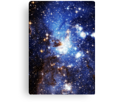Blue Galaxy 3.0 Canvas Print