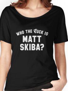 who the F is matt skiba? Women's Relaxed Fit T-Shirt