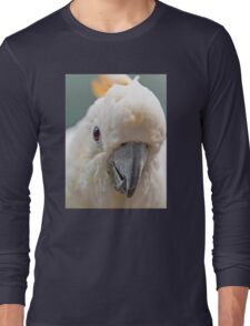 Yellow-Crested Cockatoo Long Sleeve T-Shirt