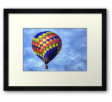 Flame on Framed Print